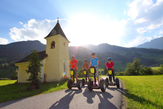 Segway fahren - Sommerurlaub in Großarl