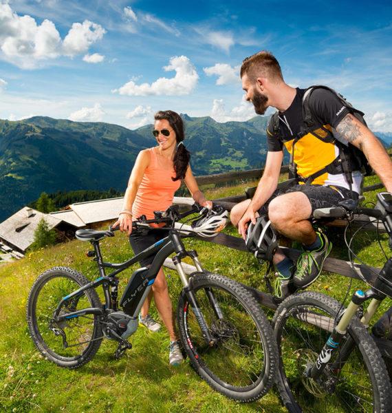 E-Biken - Sommerurlaub im Großarltal