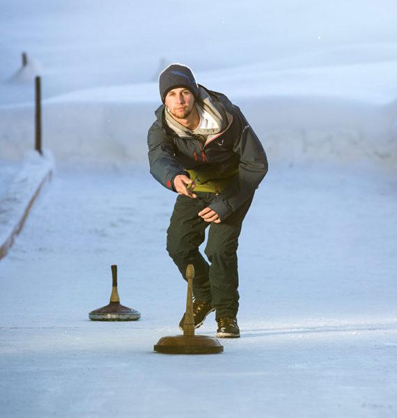 Eisstockschießen im Salzburger Land