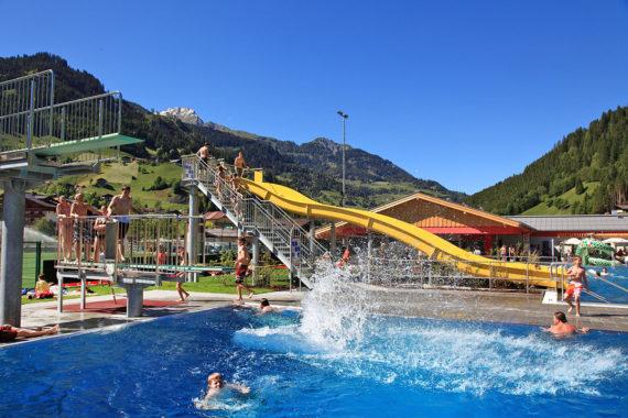 Erlebnisschwimmbad - Sommerurlaub in Großarl