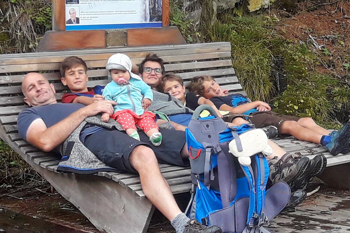 Familie Lainer, Aubauer im Großarltal
