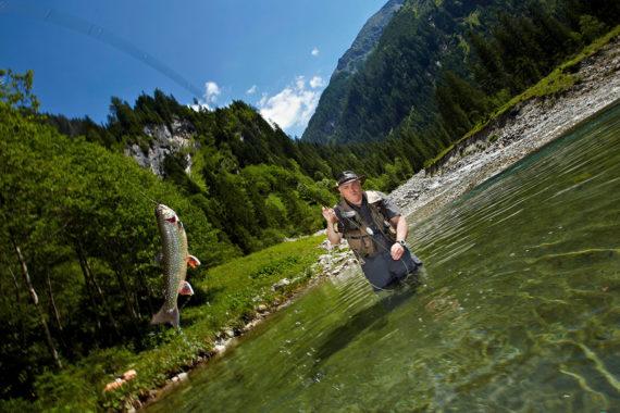 Fischen - Sommerurlaub in Großarl