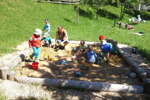 Kinderparadies am Biobauernhof Aubauer, Urlaub am Bauernhof in Großarl