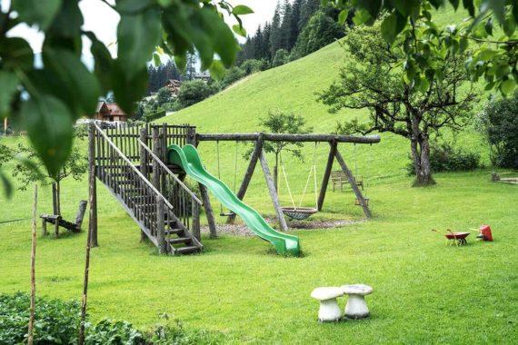 Kinderparadies am Biobauernhof Aubauern in Großarl