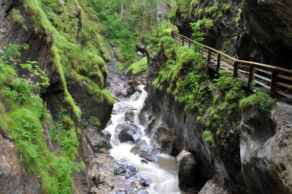 Kitzlochklamm, Ausflugsziel im Salzburger Land