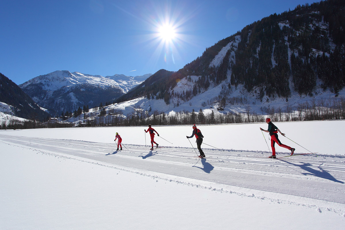 Langlaufen - Winterurlaub im Großarltal