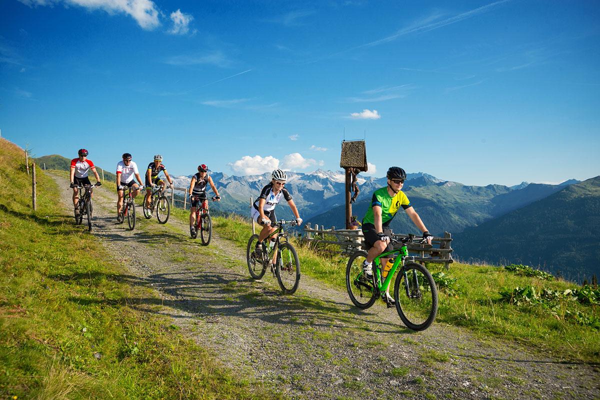 Mountainbiken - Sommerurlaub im Großarltal