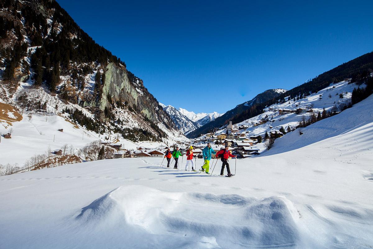 Schneeschuhwandern - Winterurlaub im Großarltal