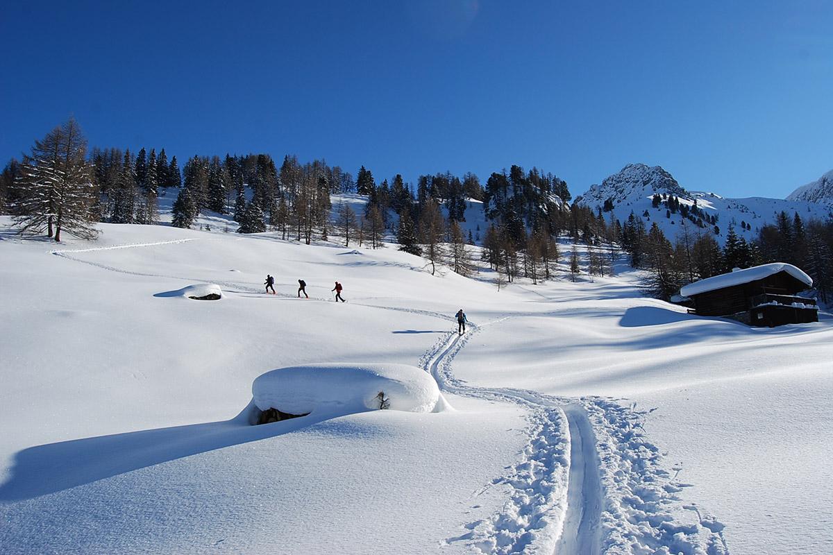 Skitouren - Winterurlaub im Großarltal