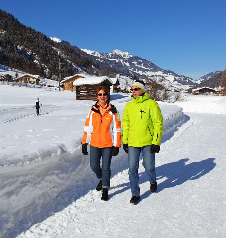 Winterwandern - Winterurlaub im Großarltal